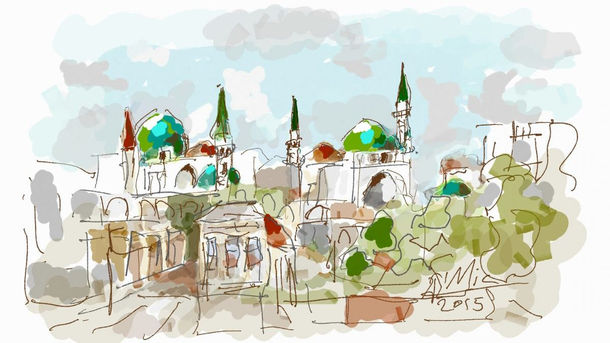 A Digital Free Hand painting journey in Acre – Part 1