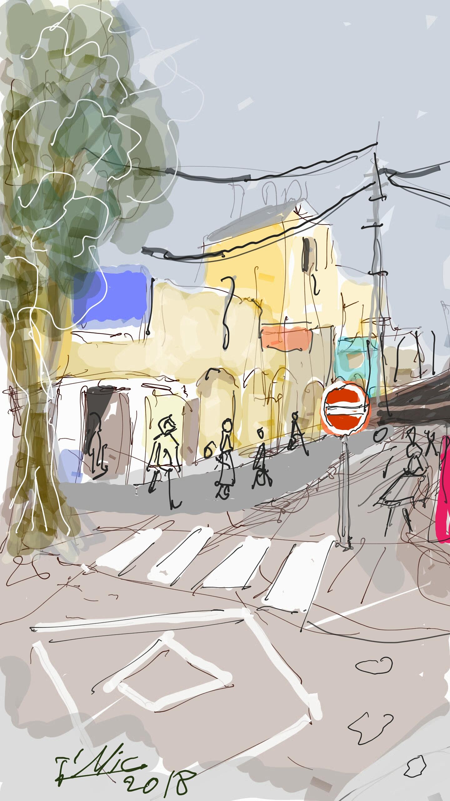 סיור בקו וצבע בעיר העתיקה בבאר שבע